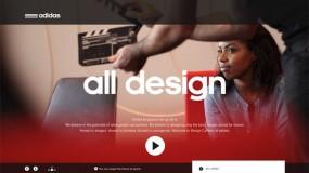 Adidas(阿迪达斯)产品设计团队网站-视觉差效果很好