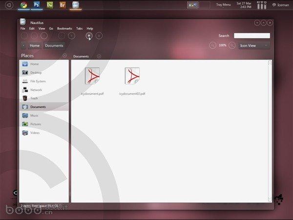 融合Win7、OS X、WP7的Ubuntu是什么样