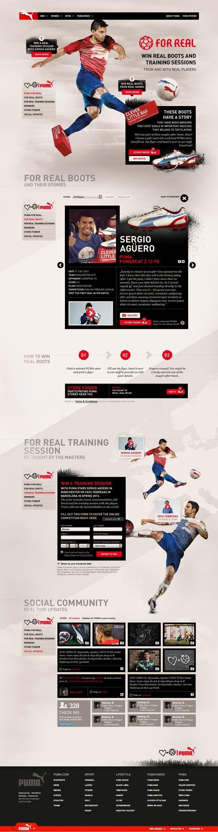 Unique Web Design, Puma