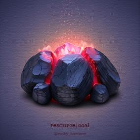 燃烧的煤炭