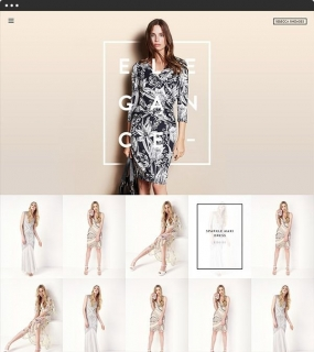 Rebecca Rhoades website. Absolutely love the minimal design