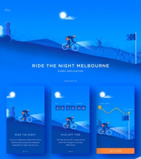 Bike Event App on Behance
