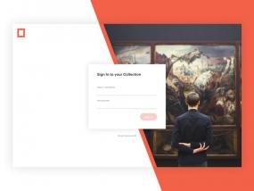 Art Platform - Login