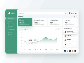 Food Delivery Web Based Dashboard