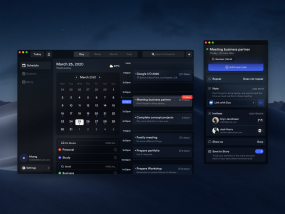 Calendar Concept Application 2 (Mac Version)