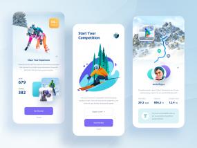 Ski-Snowboard App.