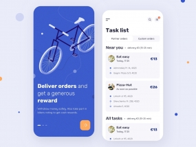 Velonto Food Delivery - Rider mobile app