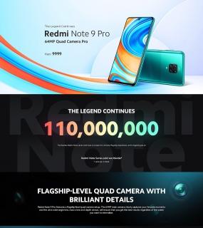 小米-Redmi Note 9 Pro产品站设计
