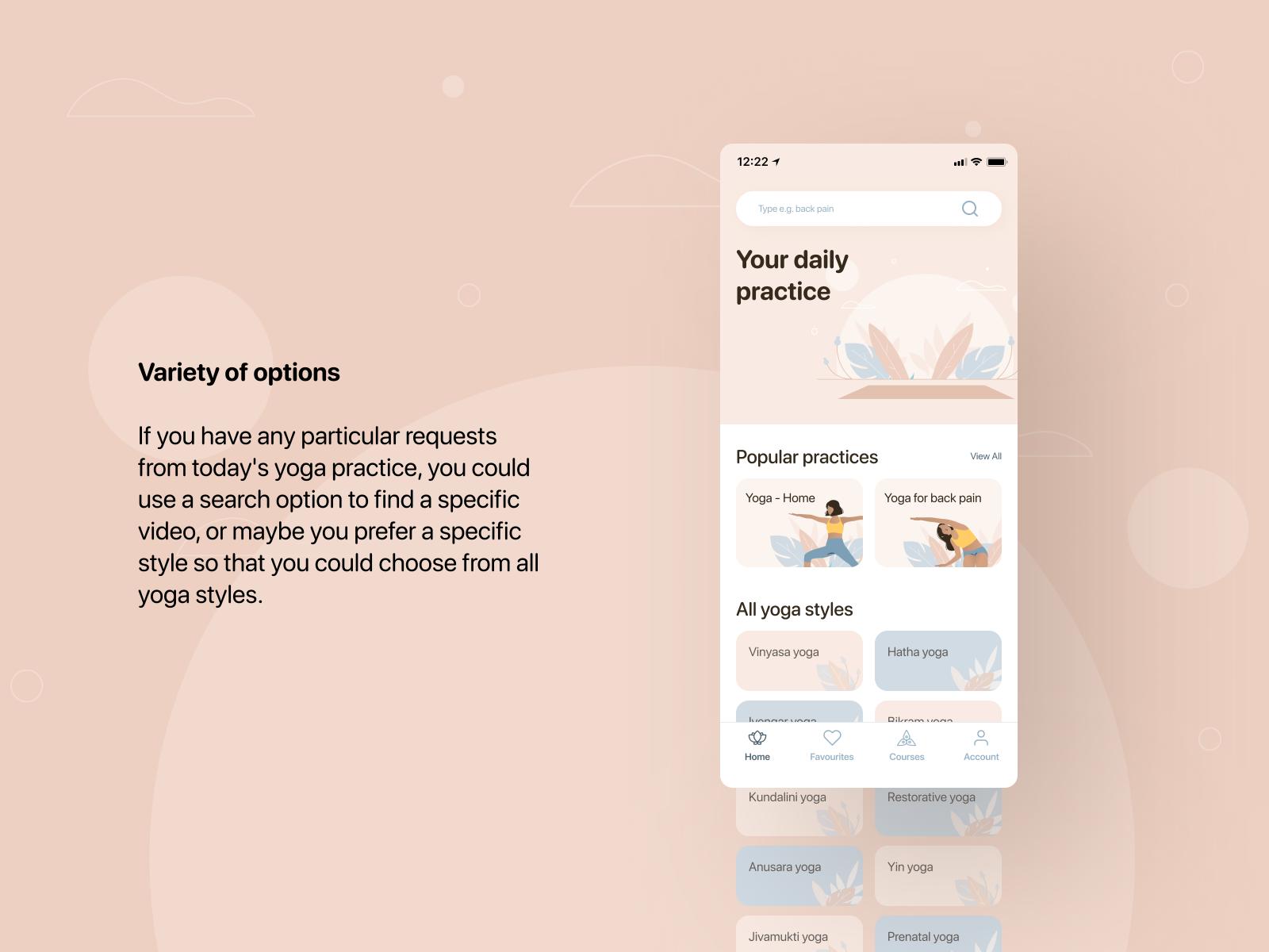 YOGI  - your daily practice   Mobile App
