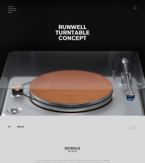 Runwell Turntable