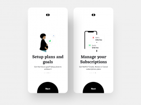 Bankie: Plans and Subscriptions Onboarding