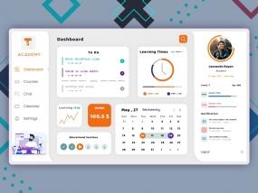 Educational site dashboard