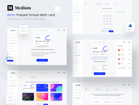 Airtm complete UX, UI and research study on Medium