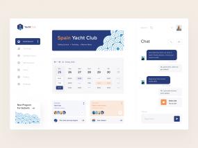 Spain Yacht Club Dashboard
