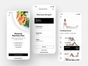Fitness App Interface