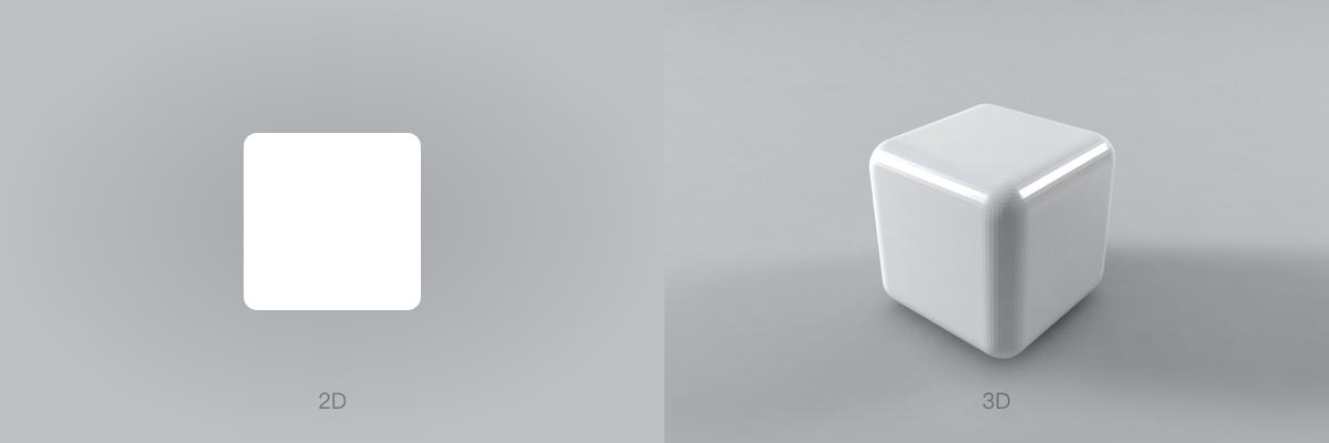 突破次元的设计思考-3D图标设计