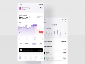 Finance App / Rocket bank