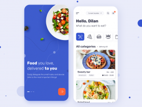 Velonto Food Delivery - Client`s mobile app