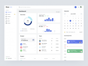Project Management - Dashboard