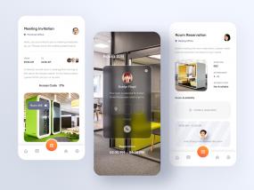 Meeting Room Reservation App.