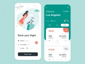 Traveling App - Mobile App