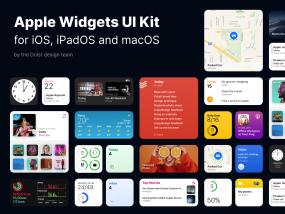 Apple Widgets UI Kit for Figma