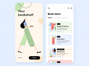 Book Store - Mobile App