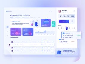 Patient page UI
