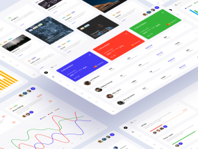 Dashboards Free UI Kit