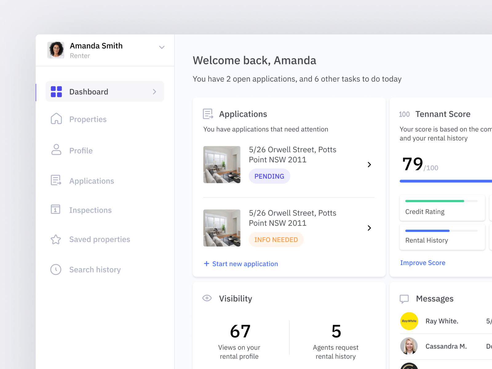Rental Application platform