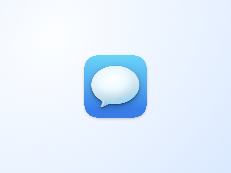 MacOS Messages icon