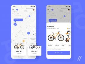 Bicycle Rental App Design