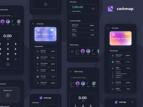 Finance Dark UI