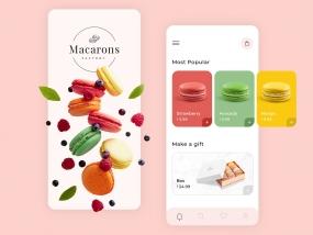 Macarons Mobile App
