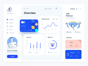 Personal CRM Dashboard Design