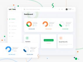 finance web app - Dashboard Redesign