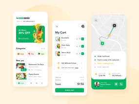 Food Delivery App for a Startup