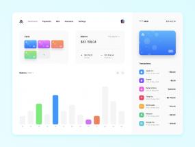 Finance Dashboard Prototype