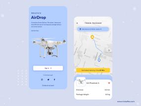 Airdrop - Drone Delivery App