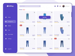OnShop-Product Page Design