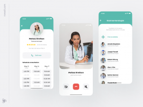 Remote Healthcare App Design