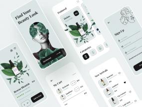 Sia - Beauty App UI Kit