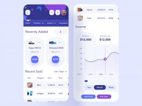 Seller Store Mobile UI