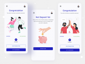 Responsive design - Cryptocurrency Exchange Platform