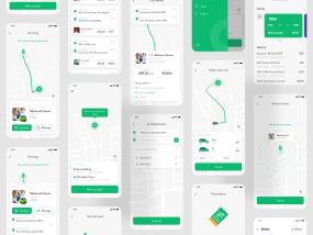Ride Sharing Mobile App - Passenger App