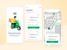 Drivers App for a Food Delivery Platform