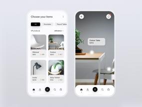 Furniture iOS AR online store