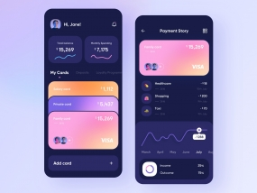 Mobile bank - App Design