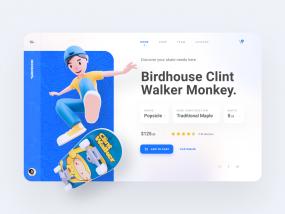 Deckshops Dashboard Design