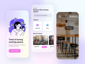 CoWerk - Coworking Space App